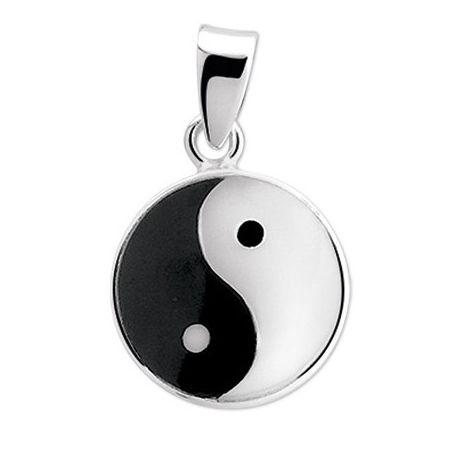 Anhänger Silber Yin-Yang