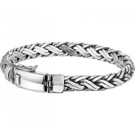 Herren-Silberarmband