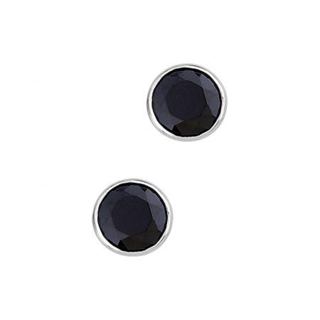 Ohrstecker aus Edelstahl mit Zirkonias 10mm