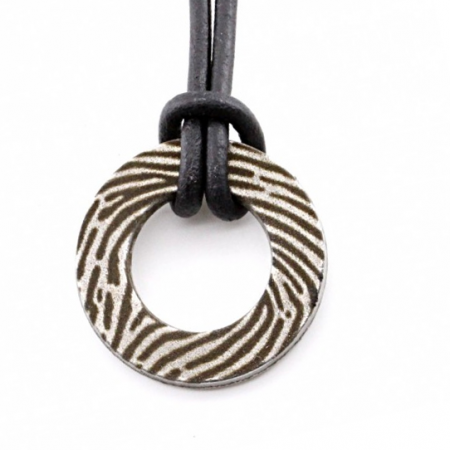 Fingerabdruck-Halskette
