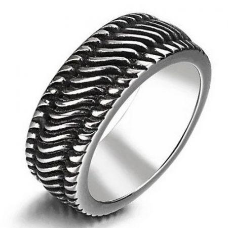 Edelstahl ring 'wires'